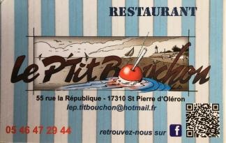 Le P'tit Bouchon in St Pierre